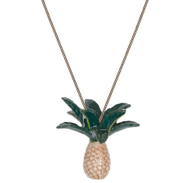 Pineapple Palm Tree Necklace, was £30