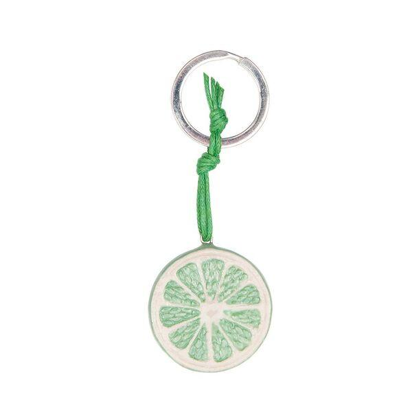 Lime Slice Keyring, was £18