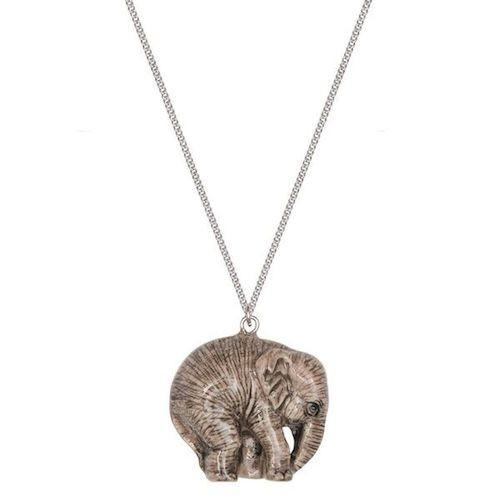 Perfectly Imperfect Baby Elephant Necklace Was £30