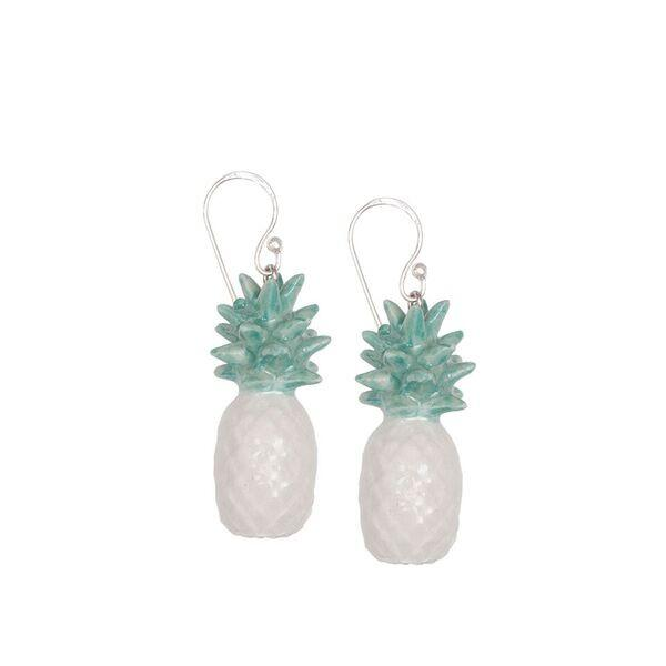 Mint Pineapple Earrings Was £40