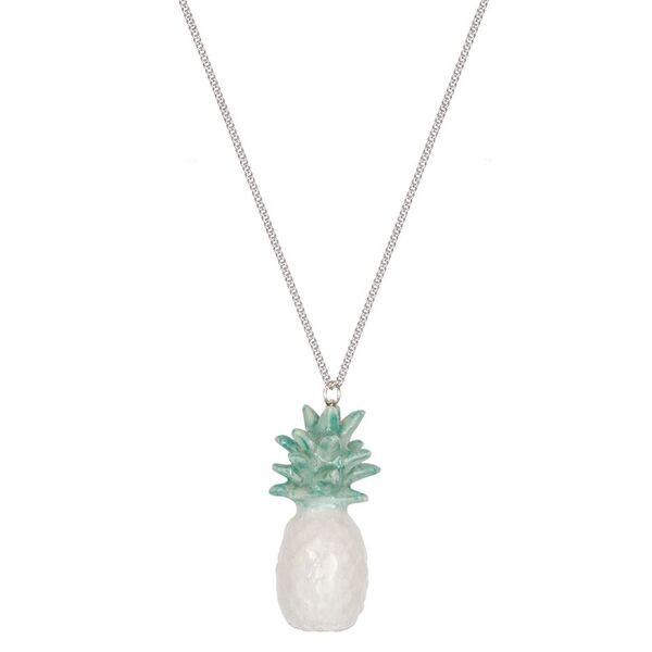 Mint Pineapple Necklace Was £30