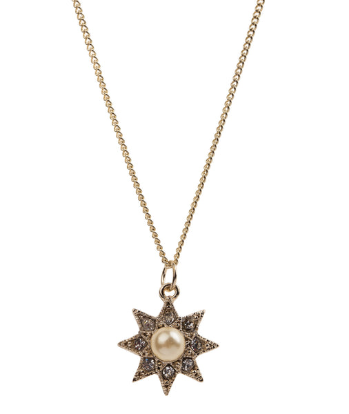 Vintage Pearl Star Necklace, was £15