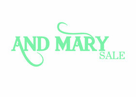 And Mary Sale