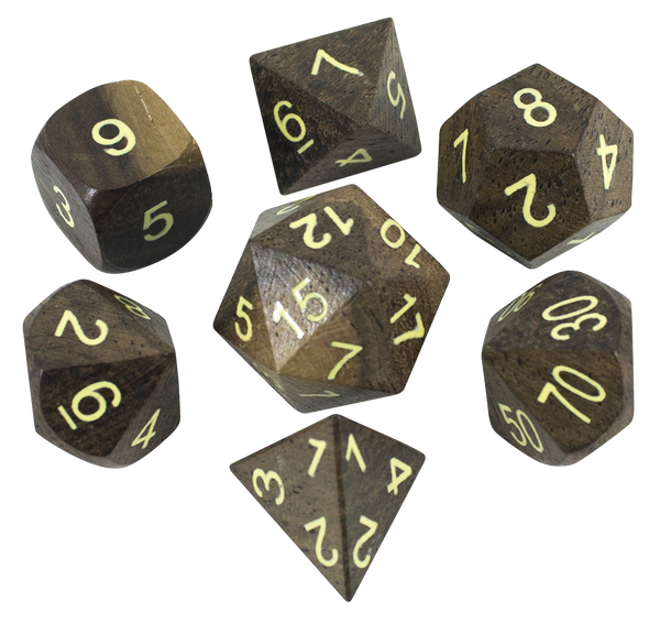 Wildwood, By Paladin Roleplaying: Luxury Wooden Dice
