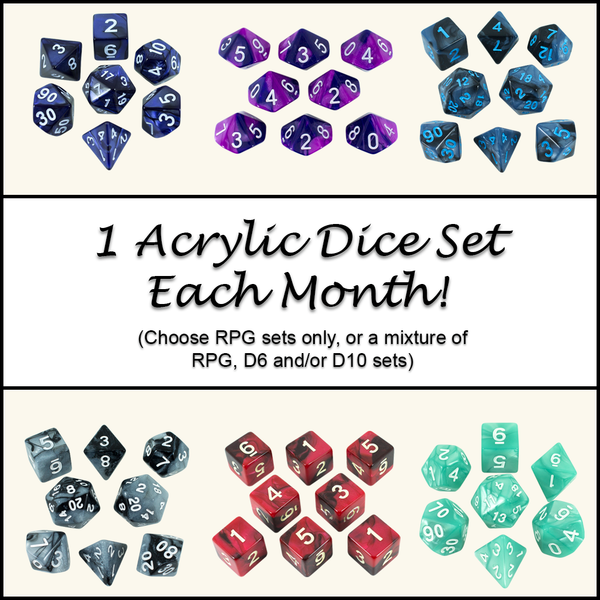 Dice Of The Month Club