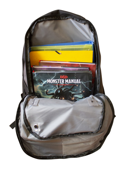 Laptop and Roleplaying Gear Rucksack - Paladin Shield Logo