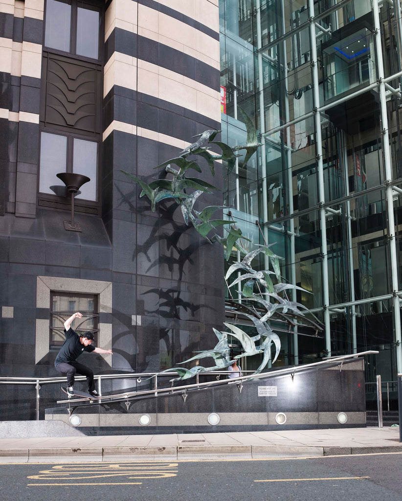 Brendan Brenna Harrap - Crooked Grind, Leeds - photo Reece Leung - Welcome Skate Store Blog Interview
