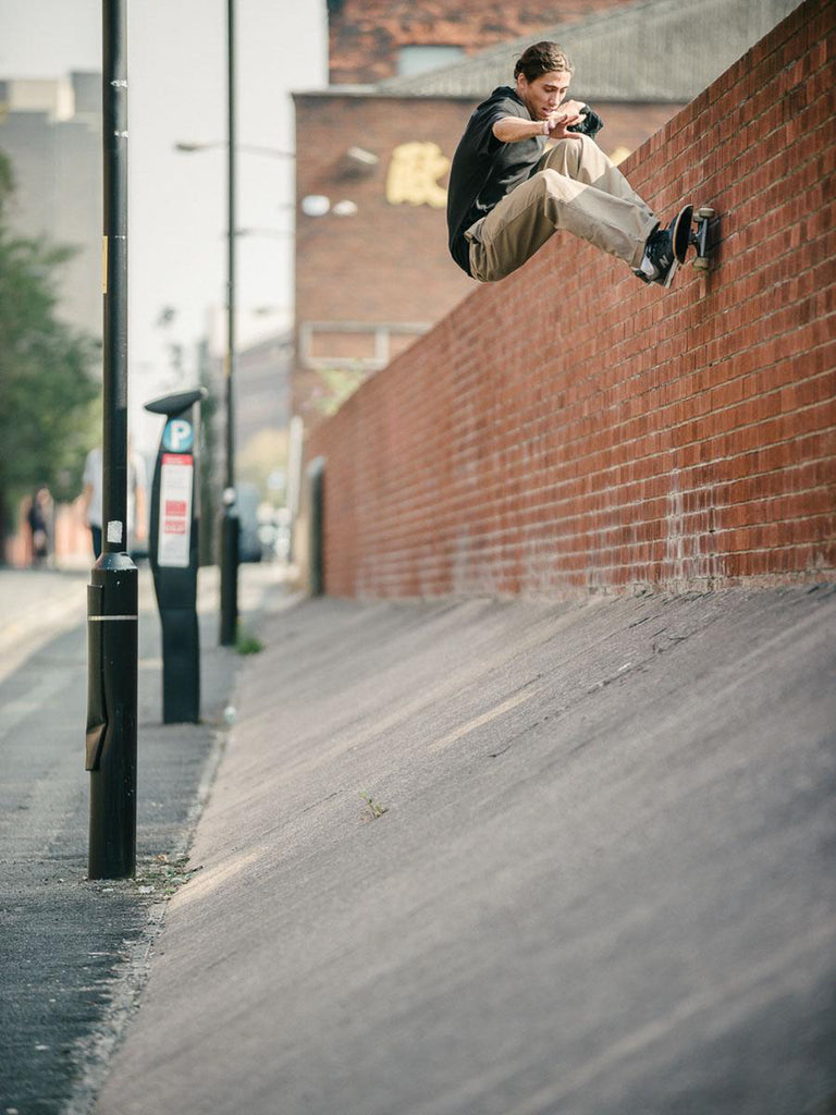 d36f5ae14dd4 Jordan Trahan Frontside Wallride Manchester photo Sam Ashley