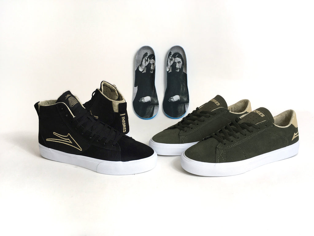 Lakai X Theories collection Newport Low and High Welcome Skate Store