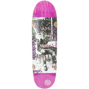 "Madness Skateboards - 9.0"" Column R7 Skateboard Deck (Pink)"
