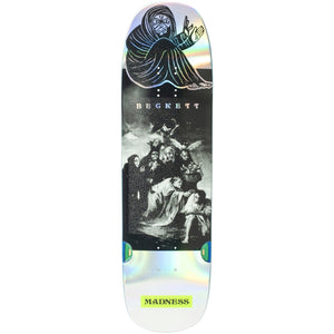 "Madness Skateboards - 8.75"" Sam Beckett Spell Bound Impact Light Skateboard Deck (Holographic)"