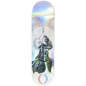 "Madness Skateboards - 8.25"" Clay Kreiner Inside Out Impact Light Skateboard Deck (Holographic)"
