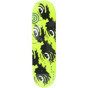 "Madness Skateboards - 8.5"" Side Eye R7 Skateboard Deck (Neon Yellow)"