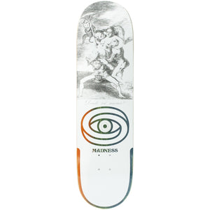 "Madness Skateboards - 8.5"" Donde R7 Skateboard Deck (White)"