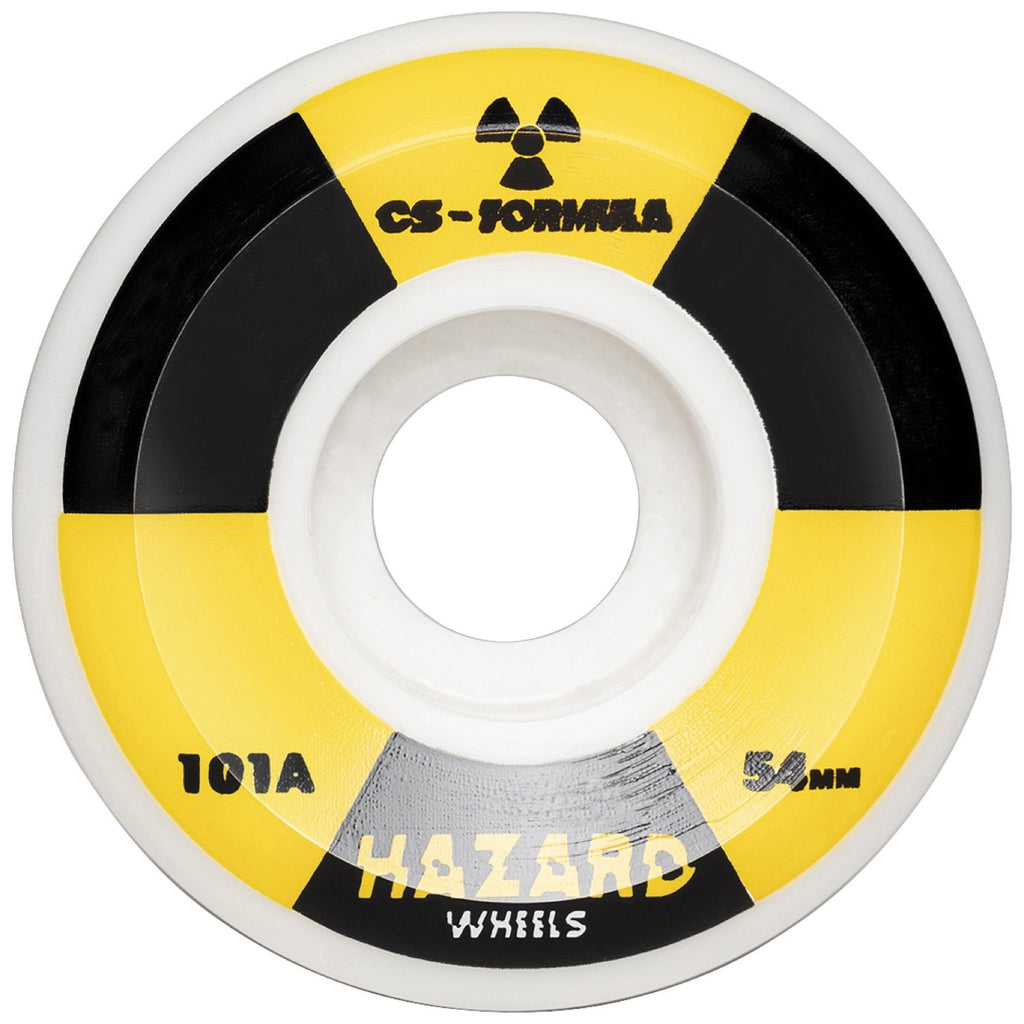 Madness Skateboards - Hazard 56mm 101a Radio Active Conical City Street Formula Wheels