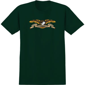 Anti Hero Skateboards - Eagle T-Shirt - Forest Green