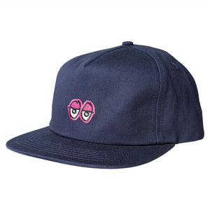 Krooked Skateboards - Eyes Snapback Cap - Navy