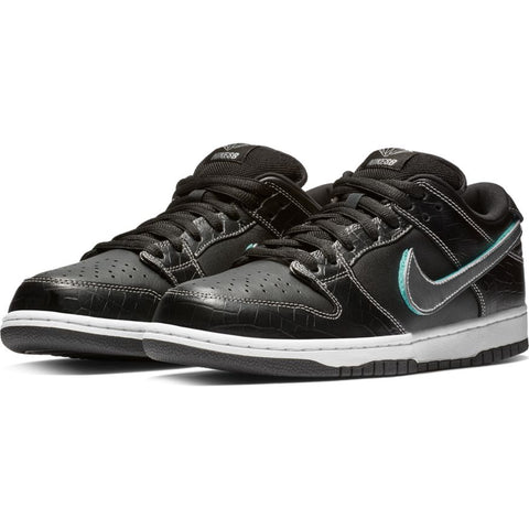 Nike SB - Diamond Dunk Low Pro OG QS Shoes - Black / Chrome / Tropical Twist - Call Store for Details