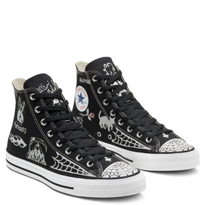 Converse Cons - Sean Pablo CTAS Hi Pro Shoes - Black / Black / White