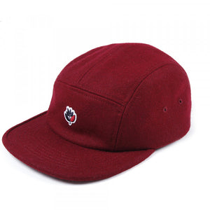 Magenta Skateboards - 5 Panel Wool Cap - Burgundy