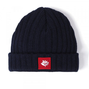 Magenta Skateboards - Tall Beanie - Navy