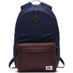 Nike SB - Icon Backpack - Obsidian / Mahogany / White