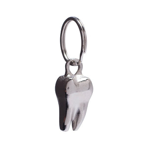 Hockey Skateboards - Tooth Keychain