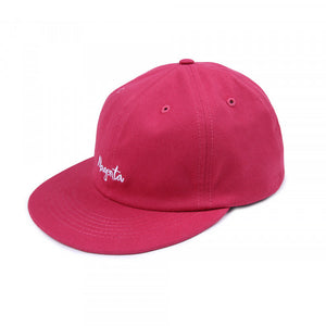 Magenta Skateboards - Script 6 Panel Cap - Rose