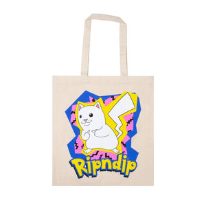 Rip N Dip - Catch Em All Tote Bag - Natural