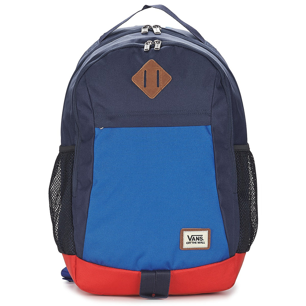Vans - Old Skool Backpack - Marine / Red