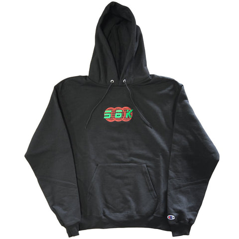 Bronze 56K - Technologies Pullover Hooded Sweatshirt - Black