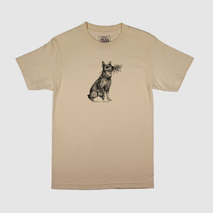 Pass Port Skateboards - Doggo T-Shirt - Sand
