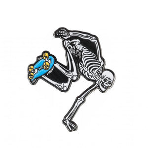 Powell Peralta - Skeleton Enamel Pin Badge