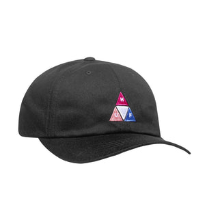 Huf - Peak Logo 6 Panel Cap - Black