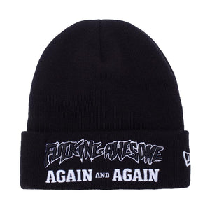 Fucking Awesome - Again And Again New Era Beanie - Black