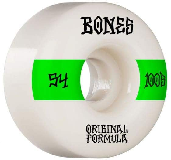 Bones - 54mm 100's V5 Skateboard Wheels