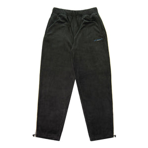 Yardsale - Surge Velour Track Bottoms - Charcoal