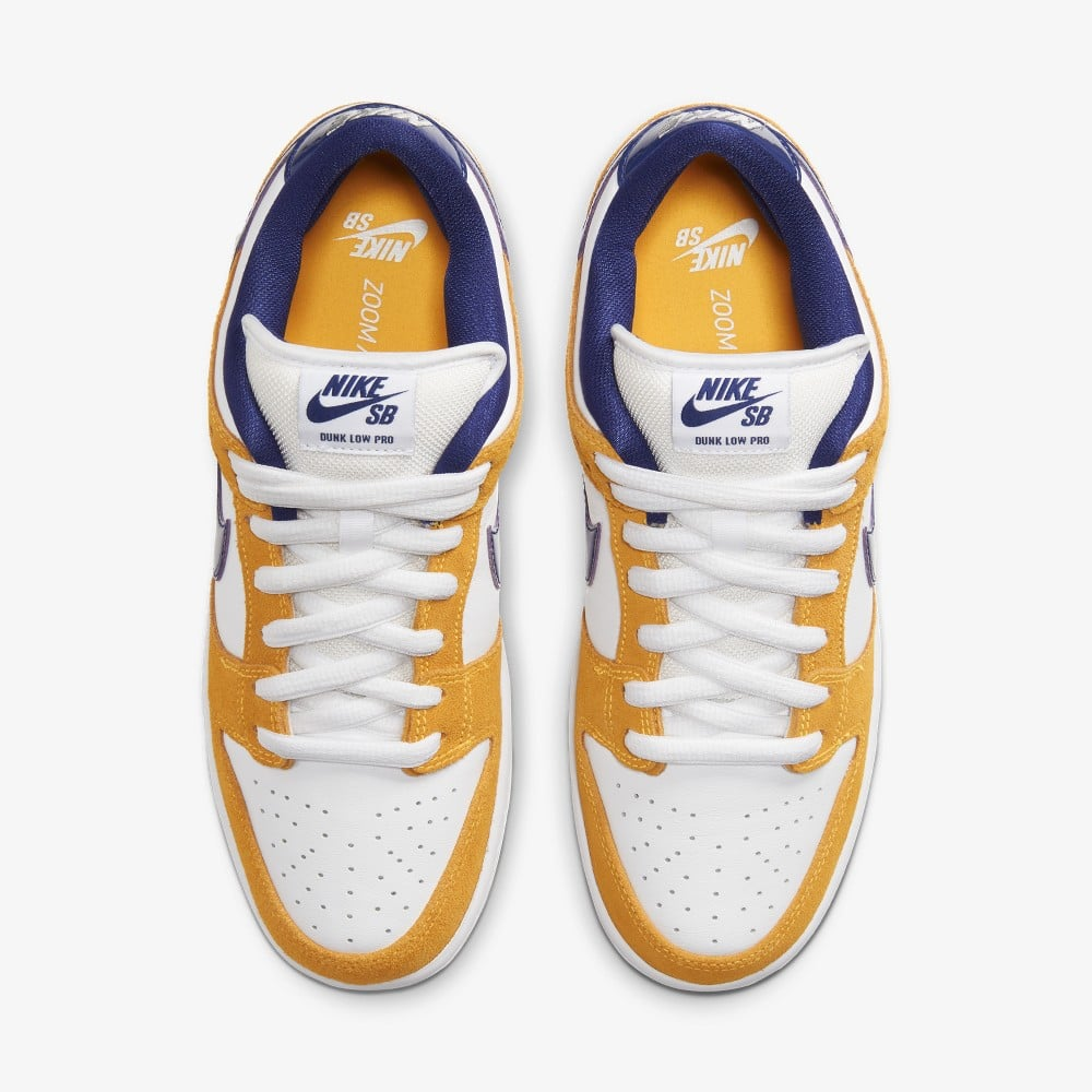 Nike SB - Dunk Low Pro Shoes - Laser Orange / Regency Purple