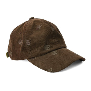 Bronze 56K - Allover Embroidered Cord Cap - Brown