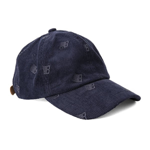 Bronze 56K - Allover Embroidered Cord Cap - Navy