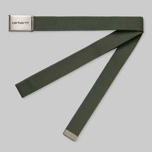 Carhartt WIP - Clip Belt Chrome - Dollar Green