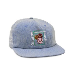 Quartersnacks - Party Cap - Light Denim