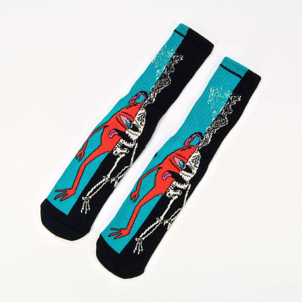 Toy Machine - Split Socks - Blue / Black