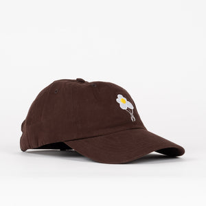 Dancer - Flower Logo Cap - Dark Brown
