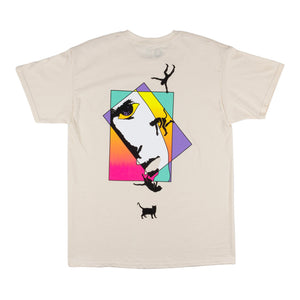 Welcome Skateboards - Faces T-Shirt - Bone
