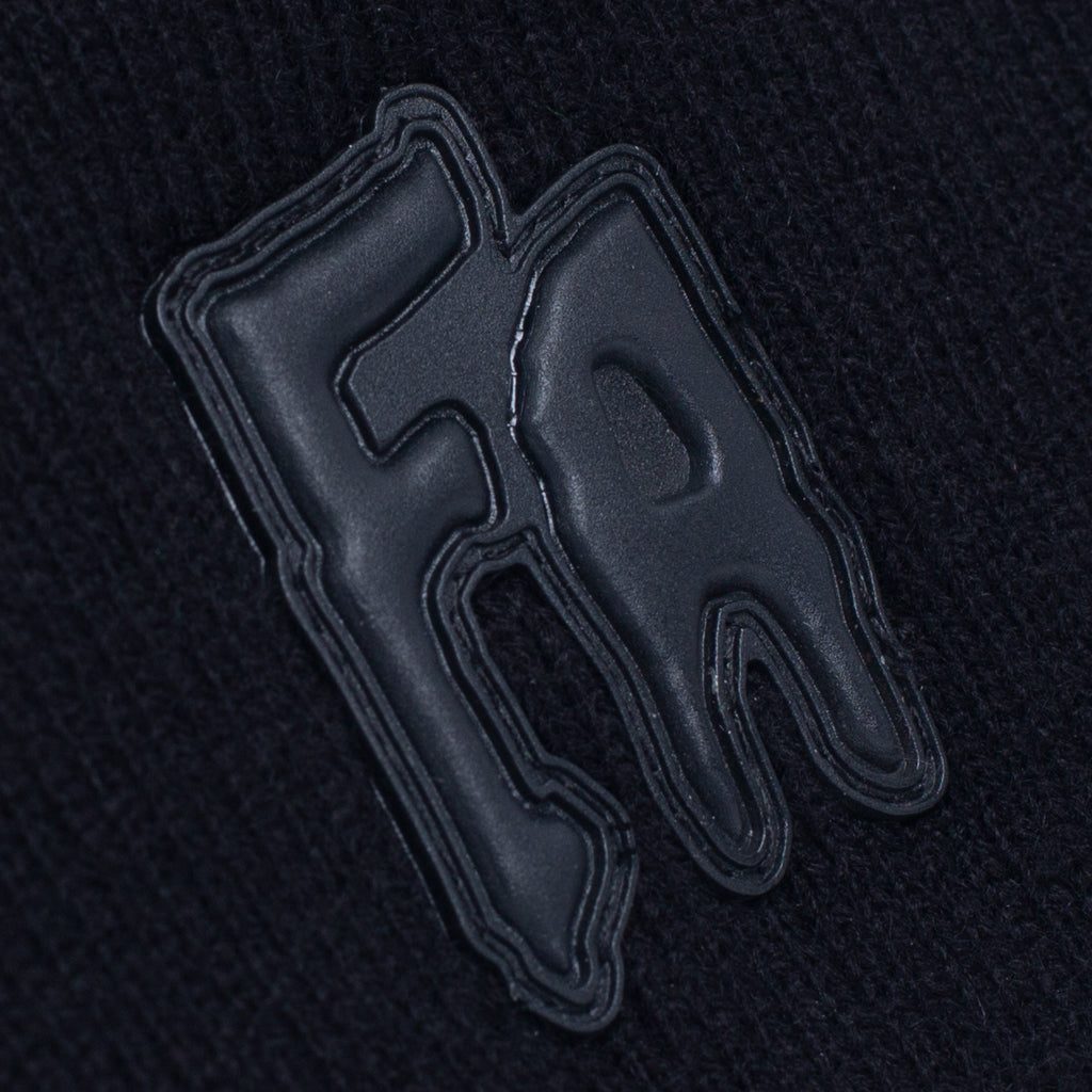 Fucking Awesome - FA Applique Cuff Beanie - Black