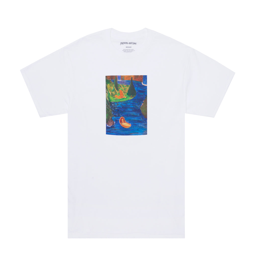 Fucking Awesome - Floating Baby T-Shirt - White