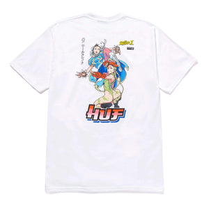 Huf - Street Fighter 2 Chun-Li & Cammy T-Shirt - White