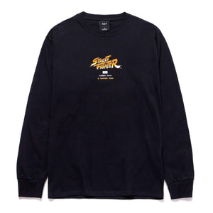 Huf - Street Fighter 2 Ending Longsleeve T-Shirt - Black