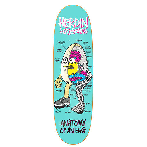 Heroin Skateboards - 9.4